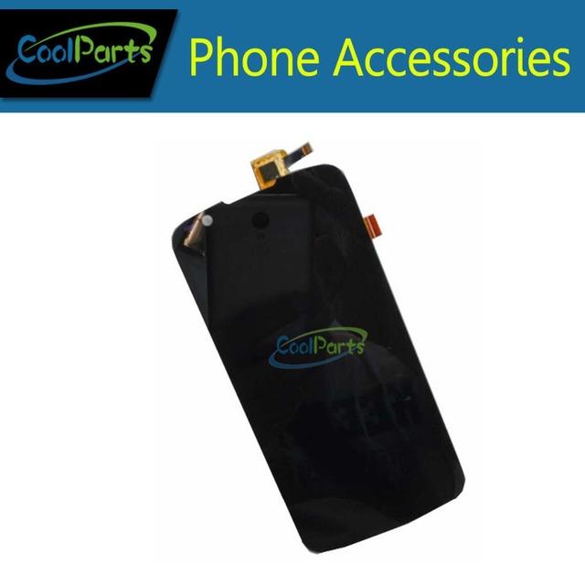 1 PC/Lot de la Alta Calidad Para Fly IQ4413 Pantalla LCD + Pantalla Táctil Digitalizador Asamblea Negro Color 1 PC/Lot.