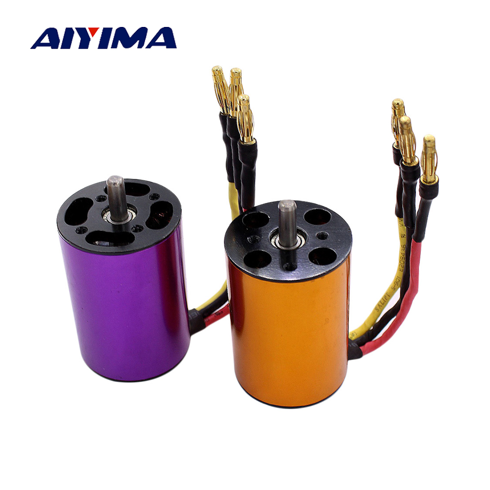 Aiyima 3650 Brushless Inner Rotor Motor For Remote Control Model Car High Speed Non-inductive Marine Motor