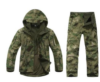 Mens Windproof Sedge Reed Hunting Clothes Camo Hunting Tactical Ghillie Suit Sniper Camouflage Clothing loogu tactical camo ghillie suit camouflage jungle hunting birding military durable sniper camouflage hunting shade clothes