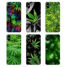 coque iphone x feuille cannabis