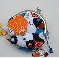 Hot Sale**32pcs`Japan!!Lucky Cat Coin Purse/Wallet/Coin Bag/Purse+(Silk)
