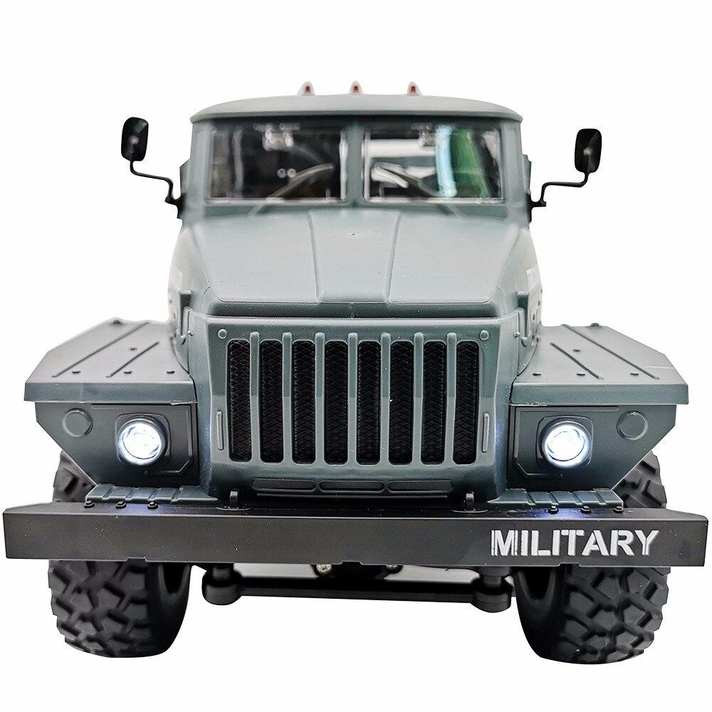 Rc 트럭 1:12 시뮬레이션 6 바퀴 드라이브 소련 우랄 군사 트럭 모델 오프로드 등산 자동차 원격 제어 육군 자동차 소년 키즈-에서RC 트럭부터 완구 & 취미 의  그룹 3