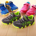 cheap 2017 Spring toddler kids shoes boys girls sports shoes for children's brand running shoes breathable mesh shoes