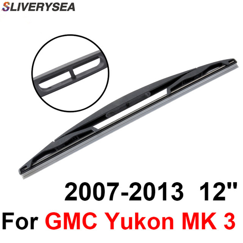 sliverysea rear windscreen wiper no arm for gmc yukon mk 3 2007 2013 12 u0026 39  u0026 39  4 door suv high
