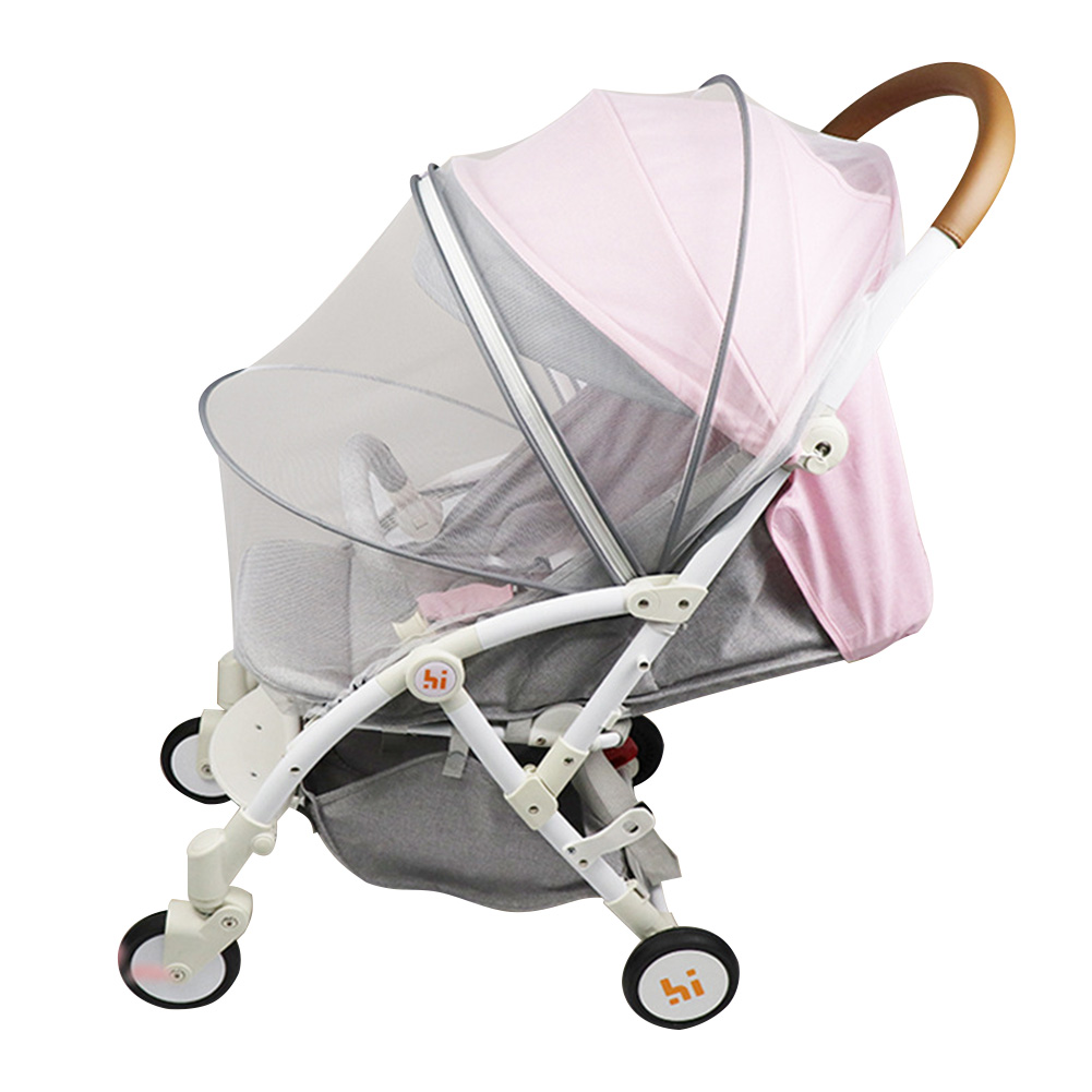 Baby Stroller Full Cover Accessories Safe Pushchair Fly Insect Protection Mosquito Net Buggy Summer Cart Crib Netting Mesh