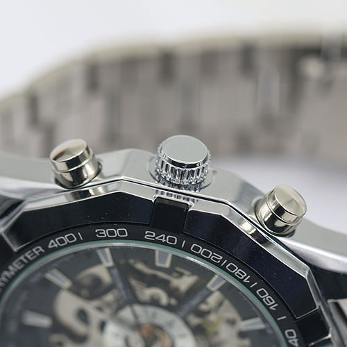 Gofuly 2020 Heren Horloges Rvs Mechanische Horloge Hand-Winding Skeleton Automatische En Sport Polshorloge Orologio Uomo 5