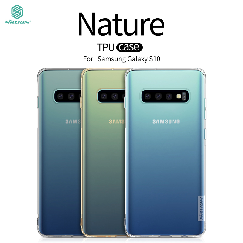 For Samsung Galaxy S10 Case Cover NILLKIN Ultra Thin Slim TPU Fitted Cases