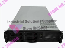 NEW 2U chassis 19 inch hot-swappable rack server chassis IPC chassis 6 drive bays new