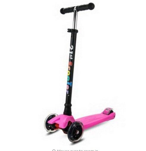 A03 livraison gratuite roue Flash enfants 3-12 ans 21st scooter jouets de plein air bébé Tricycle quatre roues enfant vélo glisser tour sur jouet