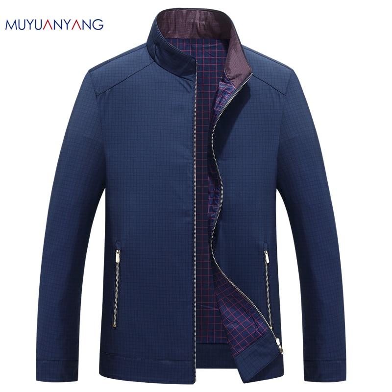Mu Yuan Yang Wool Coat For Men Casual Woolen Coats Male Clothing Men s Jackets Single