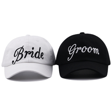 Bride Groom hat cap for wedding party embroidery baseball