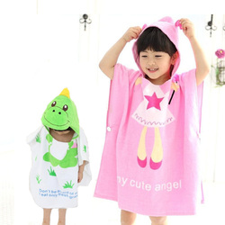 Zootime 100 cotton baby beach gown child bathrobe beach towels baby cloak cape baby bath swimming.jpg 250x250