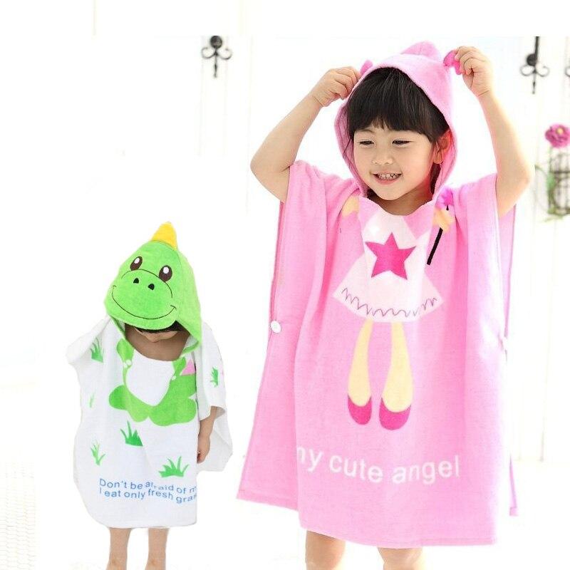 meet utterly stylish incredible prices Zootime 100% coton bébé robe de plage enfant peignoir de ...