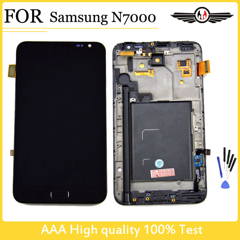 LCD Replacement parts For SamSung Galaxy Note N7000 LCD