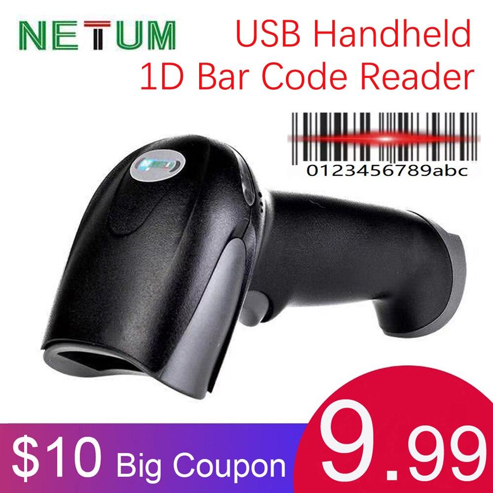Handheld USB 1D Barcode Reader USB 1D Bar Code Scanner