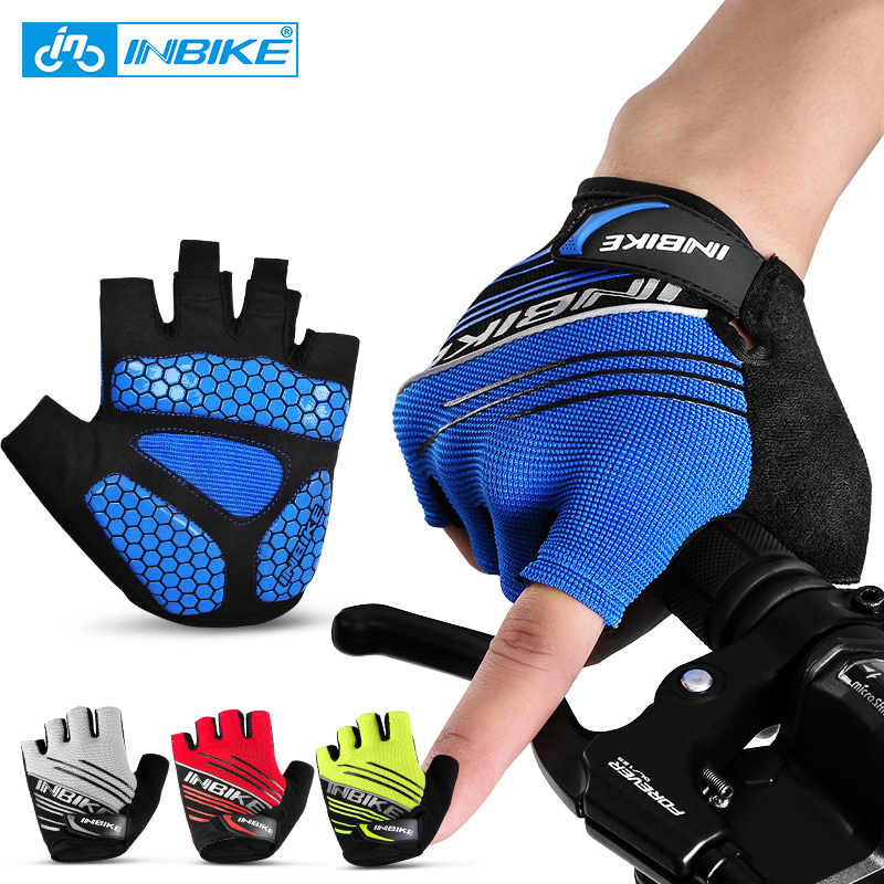 INBIKE Cycling font b Gloves b font MTB Bicycle Bike font b Gloves b font Climbing