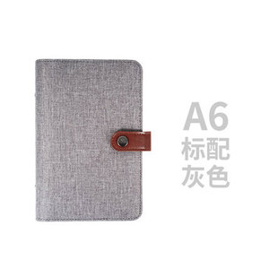 Image 3 - Yiwi A5 A6 Color Cloth Material Cover Notebook Snap Planner  Journal  Organizer Binder Stationery