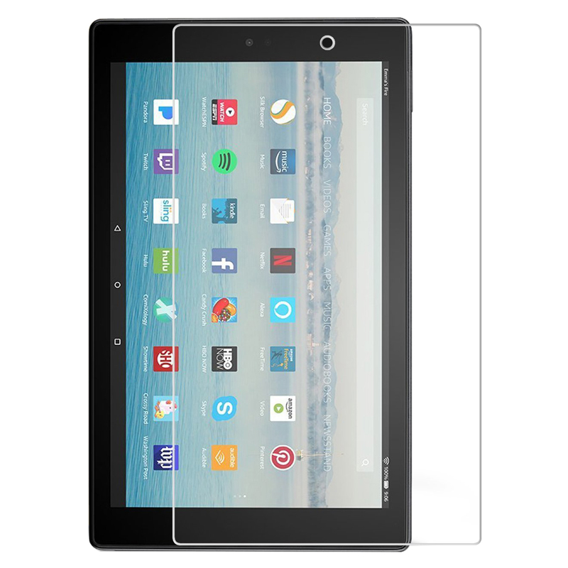 9H Tempered Glass Screen Protector For Amazon Kindle Fire HD 10 8 7 2017 HD10 HD8 HD7 8.0 7.0 Tablet Protective Glass Guard Film