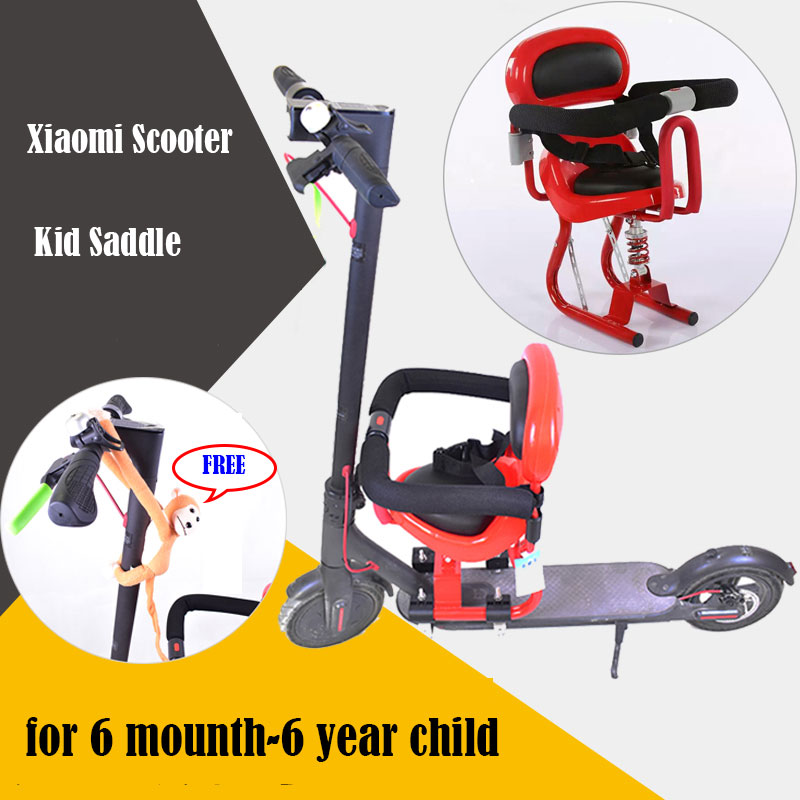 Child saddle for Xiaomi Skateboard Scooter M365 for kid seat Xiaomi scooter accessaries Xiaomi scooter diy 10inch folding damping electric scooter seat parts m365 saddle shock absorbing seat comfortable