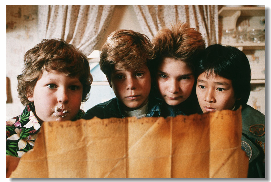 Custom Canvas Wall Decorations The Goonies Poster The Goonies Wallpaper Dining Room Stickers Office Mural Bedroom Decals #0308#