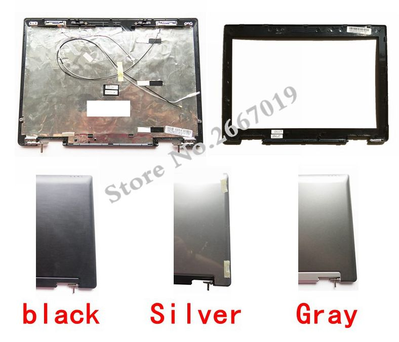 Laptop cover For ASUS A8 A8J A8H A8F A8S Z99 Z99F Z99S Z99L X80 X81 Z99H Z99J Top LCD Back Cover/LCD front bezel A Case + hinges new origl lcd back cover bezel hinge for asus a8 a8j a8h a8f a8s z99 z99f z99s