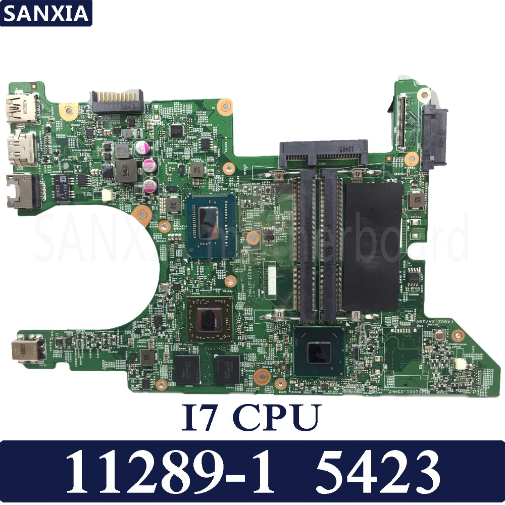 KEFU 11289-1 Laptop motherboard for Dell Inspiron 5423 Test original mainboard I7 CPU  AMD-Video cardKEFU 11289-1 Laptop motherboard for Dell Inspiron 5423 Test original mainboard I7 CPU  AMD-Video card