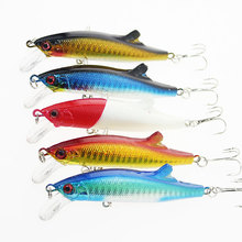 9cm 26g Minnow Fishing Lures Baits Deep Sea Bass Lure Artificial Wobbler Crank Fish Swim Bait Diving sinking Japan 3D Eyes Pesca