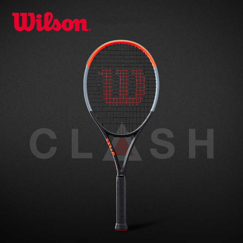 Wilson Carbon Fiber Black Technology Full Court Tennis Racket Clash WR005611U1