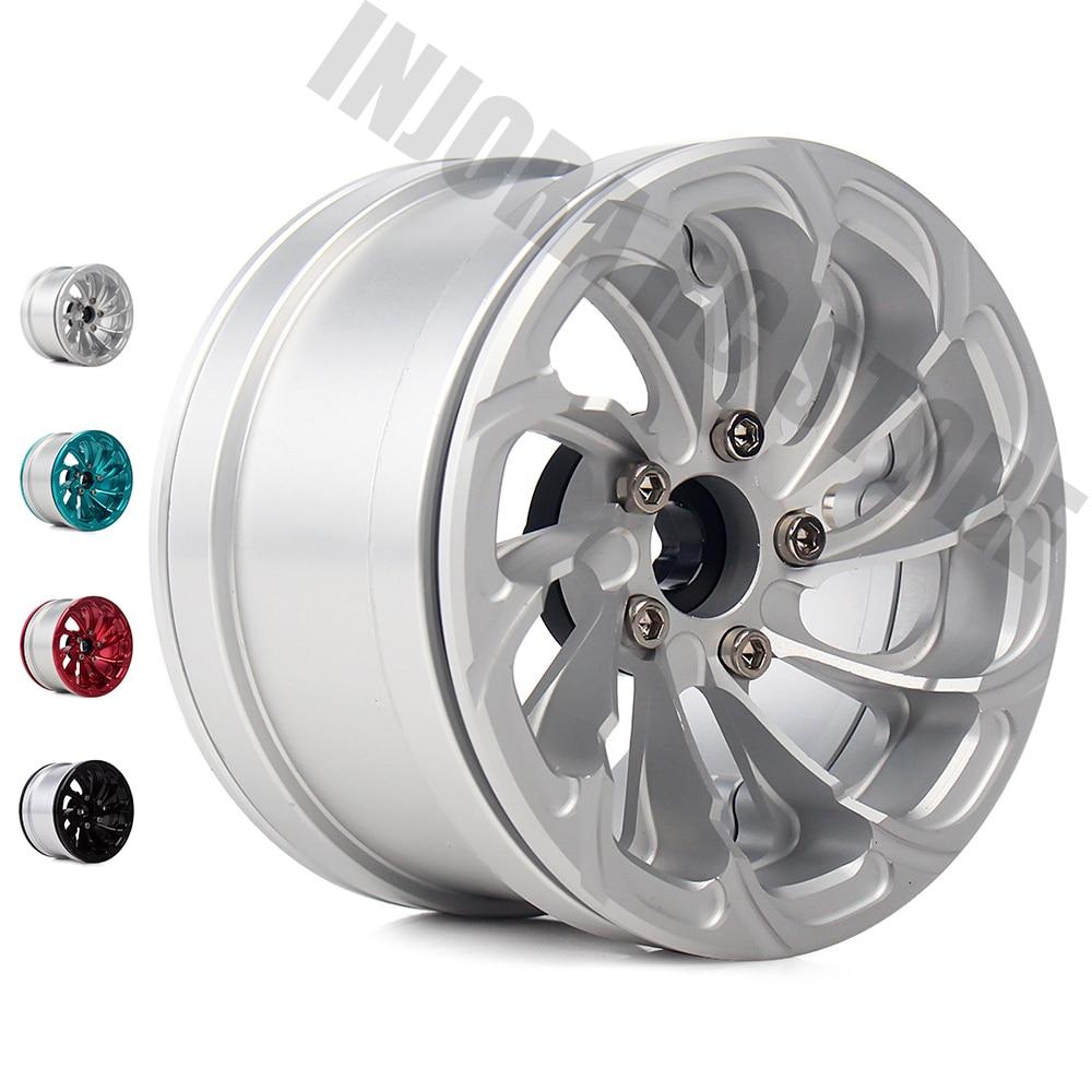 4PCS Metal Alloy 1 10 RC Rock Crawler 2 2 Wheel BEADLOCK Rim for Axial SCX10