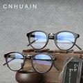 Armações de Óculos Homens Marca CNHUAIN Limpar lens Moda Armação de óculos de Miopia Armações de Óculos de Olho Para As Mulheres Do Vintage