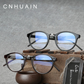CNHUAIN Eyeglasses Men Brand Optical Frames Clear lens Fashion Eye Glasses Frames For Women Vintage Spectacle Frame Myopia
