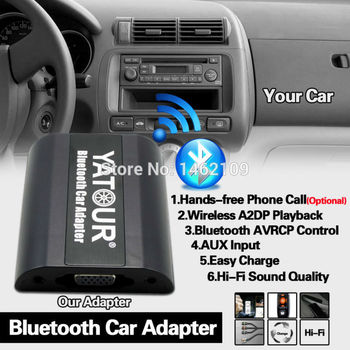 Yatour Bluetooth Car Adapter Digital Music CD Changer 8Pin Connector For Renault Clio Kangoo Master Megane Modus Radios фото