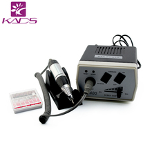 KADS Hot Sale 30000RPM Black Nail Art Equipment Manicure Tools Pedicure Acrylics Grey Electric Nail Drill Pen Machine Set Kit