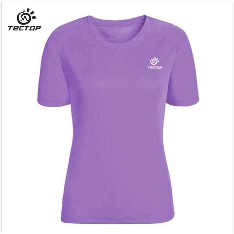 Dámské běžecké triko s krátkým rukojemím pro ochranu proti UV záření 2017