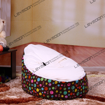 FREE SHIPPING bean bag cover with 2pcs watermelon red up cover baby bean bag chairs waterproof baby bean bag baby seat cover