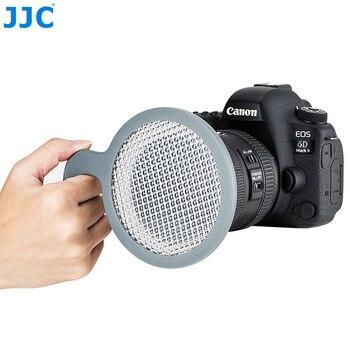 цена на JJC 95mm Hand-held White Balance Filter Gray Card for Canon Nikon Sony Fuji Olympus Panasonic DSLR SLR Mirrorless Camera Lens