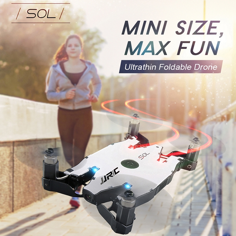 JJRC H49 SOL Sans Tête Mode Maintien D'altitude Un Retour Key Wifi FPV 720 P HD Caméra Pliable Mini Taille Drone RC Quadcopter