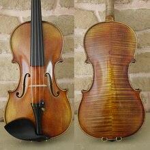 Копия Stradivarius Cremonese 1715 скрипки, 100% антикварная лакированная, Бесплатная скрипки случае, лук и канифоль, № 1201