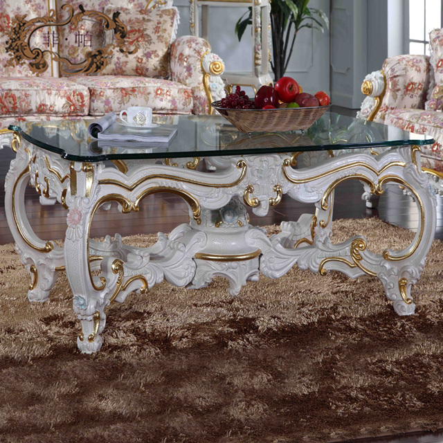 china factory wholesale european antique furniture - royalty handcraft  classic table french baroque furniture - China Factory Wholesale European Antique Furniture Royalty Handcraft