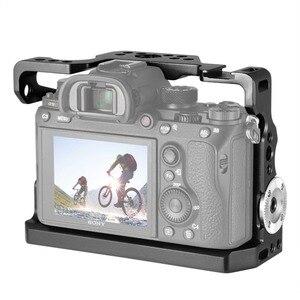 Image 4 - SmallRig Camera Kooi Voor Sony a9 Met Nato Rail Koud Shoe Mount + Arri Rozet Rig Kit 2013