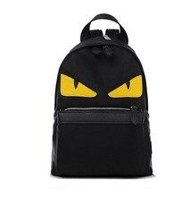 Hot! populaire Unisexe Femmes Hommes sacs à dos sacs d'école yeux une épaule sacs à dos mochilas image cartables buste sac en nylon