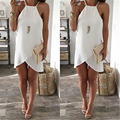 New Sexy Women Summer Casual Sleeveless Party Evening Mini Dress
