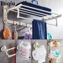 Аксессуары для ванной комнаты Комплект недавно латунь белый и золотой держатель для туалетной щетки, Бумага держатель, вешалка для полотенец, Полотенца держатель, ванная комната оборудование комплект