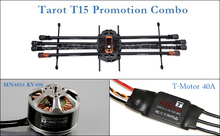 Big sale High Quality Big Tarot T15 Octocopter Promotion Combo 8 Shaft Uninhabited Machine UAV Set Perfect performance with cheaper price