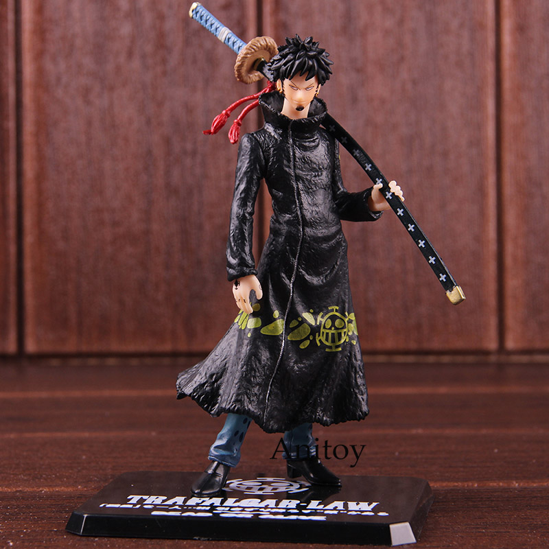 One Piece Heart Pirates Trafalgar Law Action Figure Seven Warlords of the Sea Ver. PVC Collectible Model Toy 1