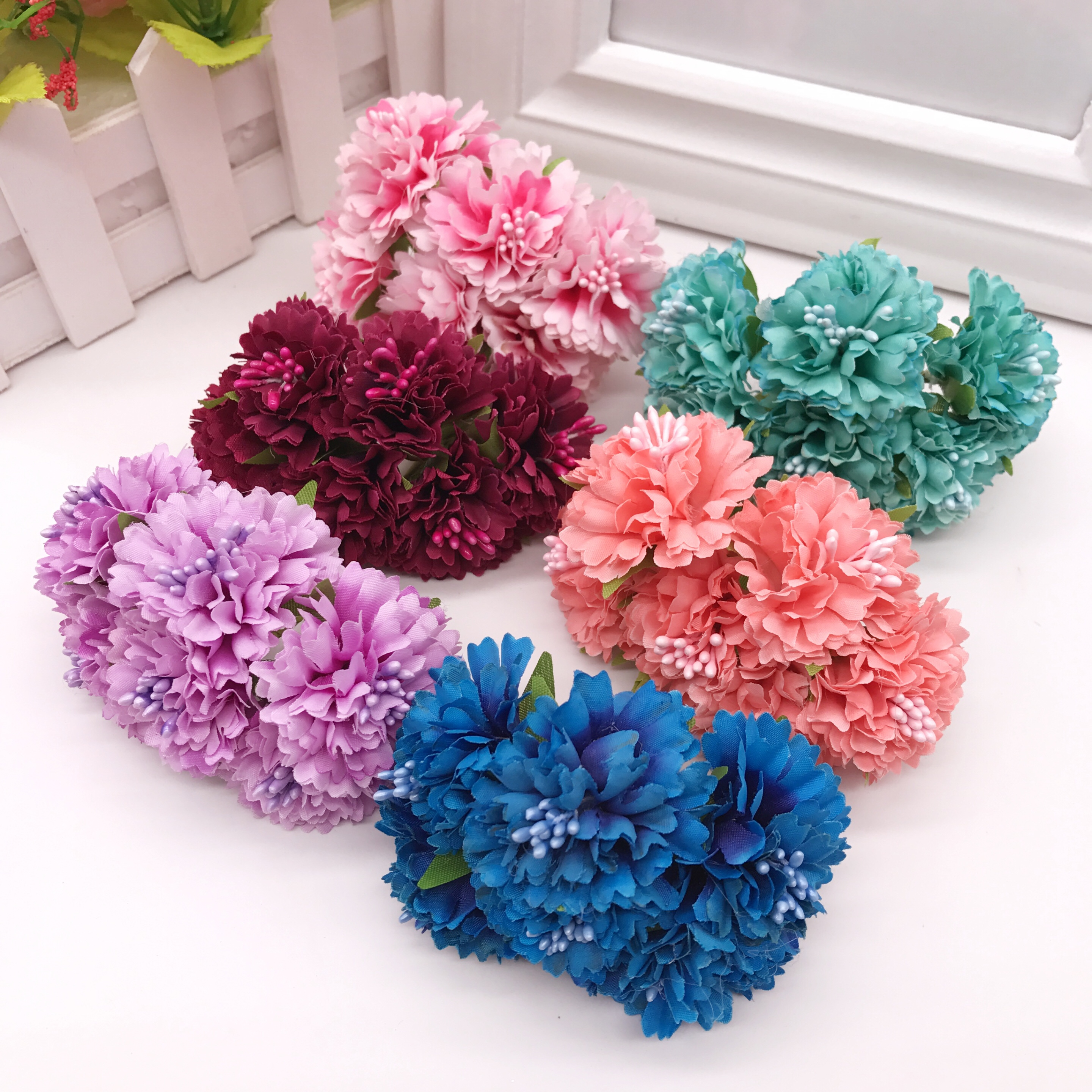 Top 8 Most Popular Artificial Craft Hydrangea Bouquet Home Wedding Brands And Get Free Shipping A729
