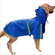 Free Shipping Clothing Large Labrador Retriever Clothes Waterproof Plastic Solid Pet Clothes Raincoat for Dogs Waterproof YY011 the labrador retriever