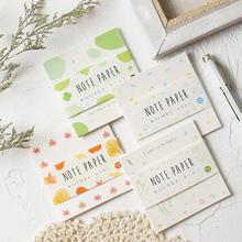 Buy Four Season note pad set Mini paper memo Summer Winter notepad planner memo Stationery Office accessories School supplies F598 directly from merchant!