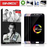 AMOLED 5.5 Sinbeda For SAMSUNG Galaxy J730 LCD Display Touch Screen For SAMSUNG J7 2017 LCD J730M J730F J730 Display J7 Pro LCD