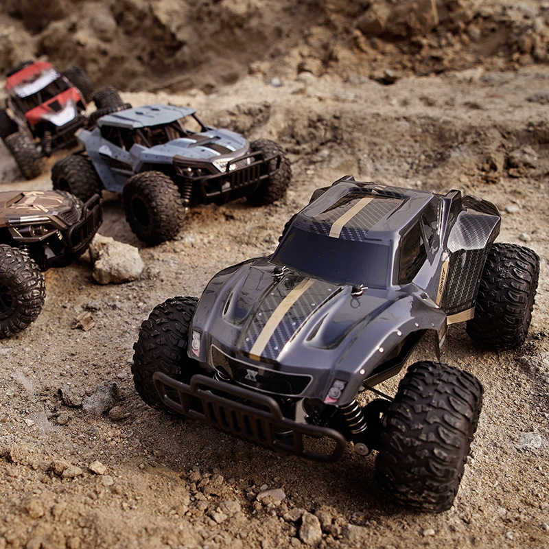 RC Cars 1:18 Off-Road RC Racing Car TPR 2 4GHz Steering High Speed RC  Racing Cars WITH camera 720p Kids Trucks Best gift